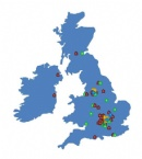 Locations in the UK